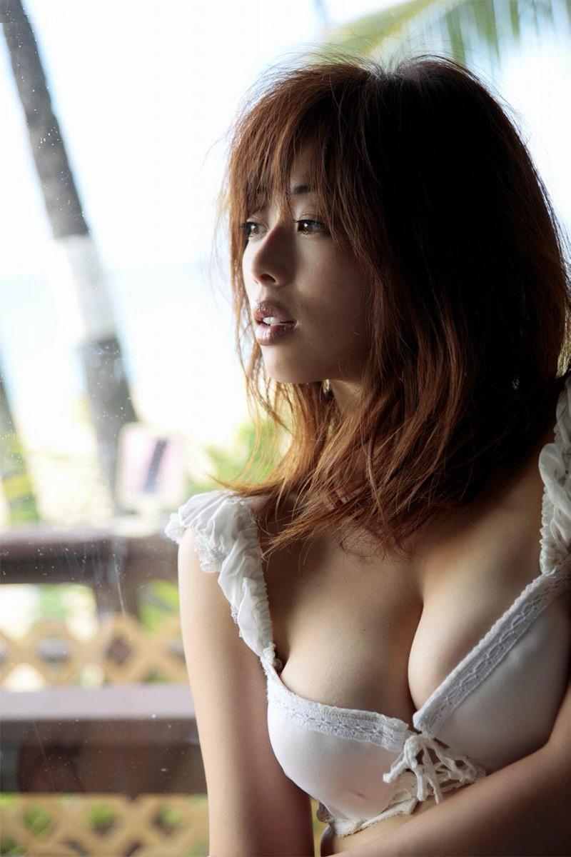 【井上和香グラビア画像】かつて「ワカパイ」と呼ばれたFカップ巨乳のグラビアアイドルの現在は? 73