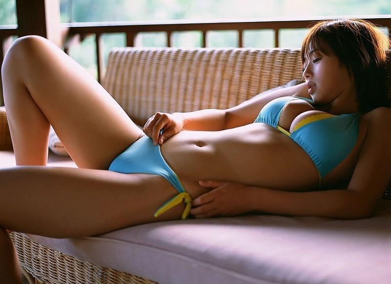 【井上和香グラビア画像】かつて「ワカパイ」と呼ばれたFカップ巨乳のグラビアアイドルの現在は? 78