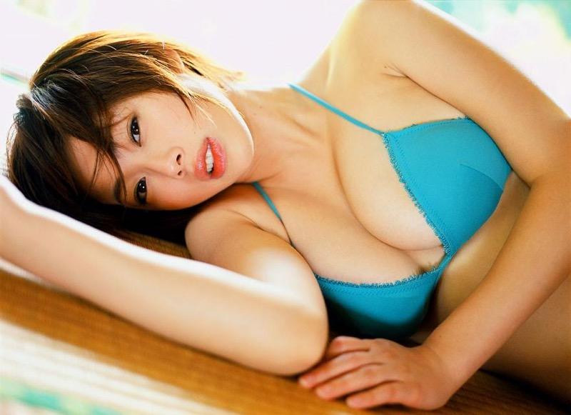 【井上和香グラビア画像】かつて「ワカパイ」と呼ばれたFカップ巨乳のグラビアアイドルの現在は? 88