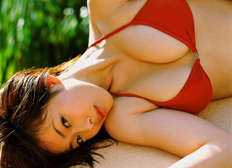 【井上和香グラビア画像】かつて「ワカパイ」と呼ばれたFカップ巨乳のグラビアアイドルの現在は? 89