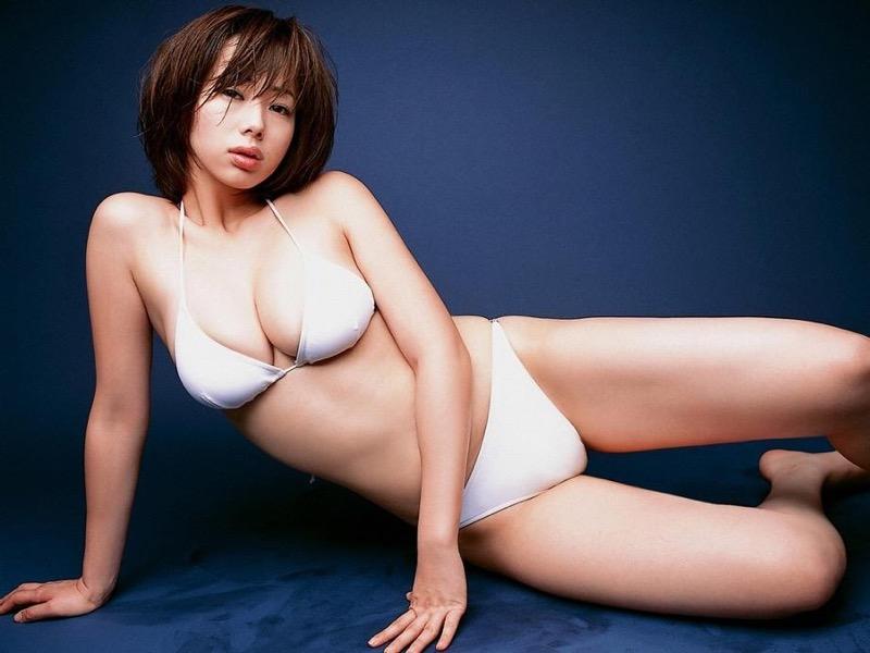 【井上和香グラビア画像】かつて「ワカパイ」と呼ばれたFカップ巨乳のグラビアアイドルの現在は? 90