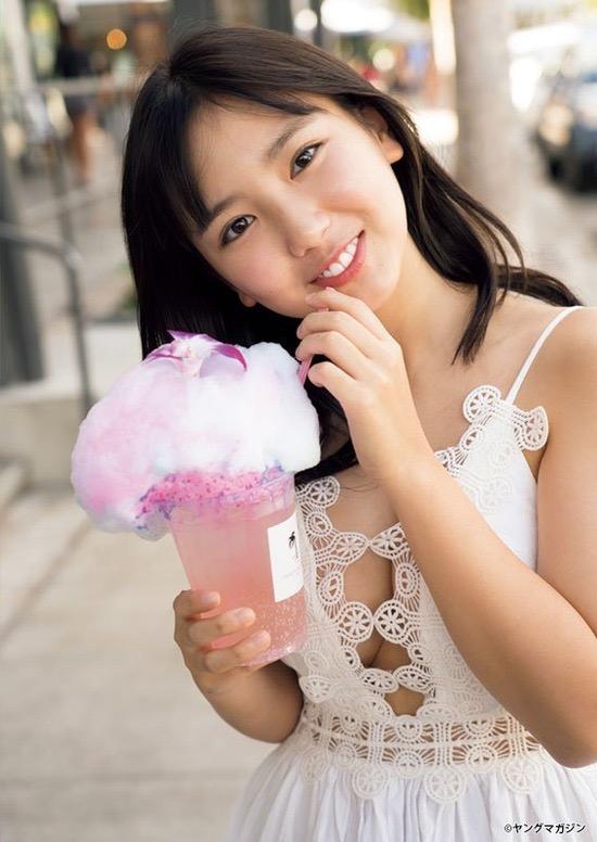【沢口愛華グラビア画像】美少女コンテストでグランプリを獲っただけあって可愛くてオナネタになるわwwww 17