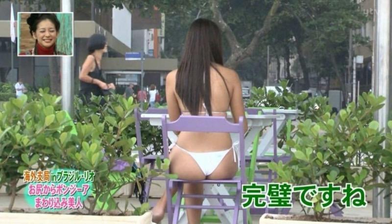 【放送事故画像】テレビタレントがうっかり見せちゃったオッパイやオマンコのチラ見えキャプエロ画像 58