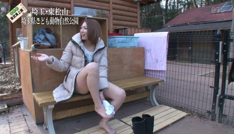 【放送事故画像】テレビタレントがうっかり見せちゃったオッパイやオマンコのチラ見えキャプエロ画像 73