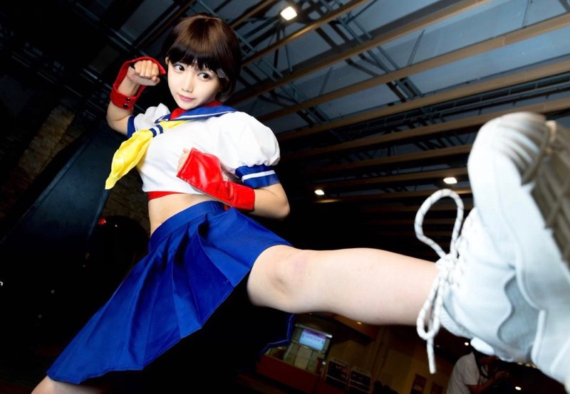 【ゲーマーグラドル画像】ゲームが好きで美少女キャラコスプレもヤっちゃう激しこグラビアアイドル! 14