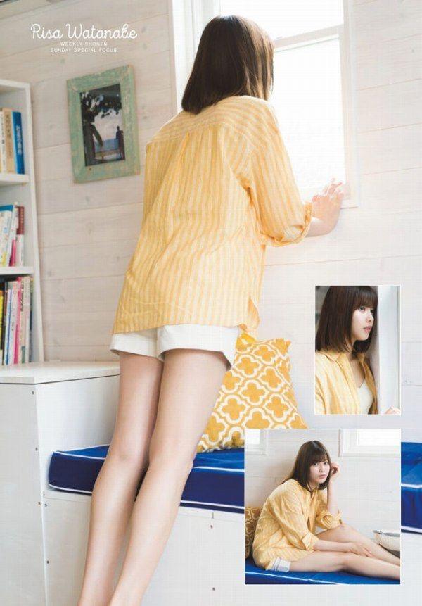 【渡邉理佐グラビア画像】可愛さと大人っぽさを合わせ持つ櫻坂46アイドルのセクシーなビキニ姿がエロい 13