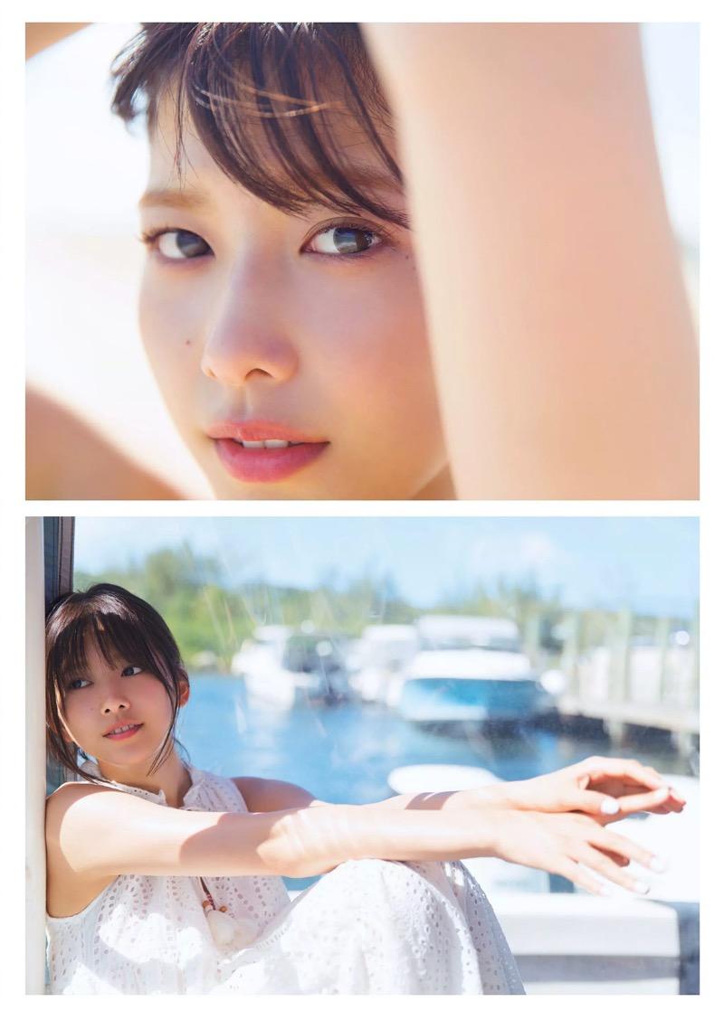 【渡邉理佐グラビア画像】可愛さと大人っぽさを合わせ持つ櫻坂46アイドルのセクシーなビキニ姿がエロい 65