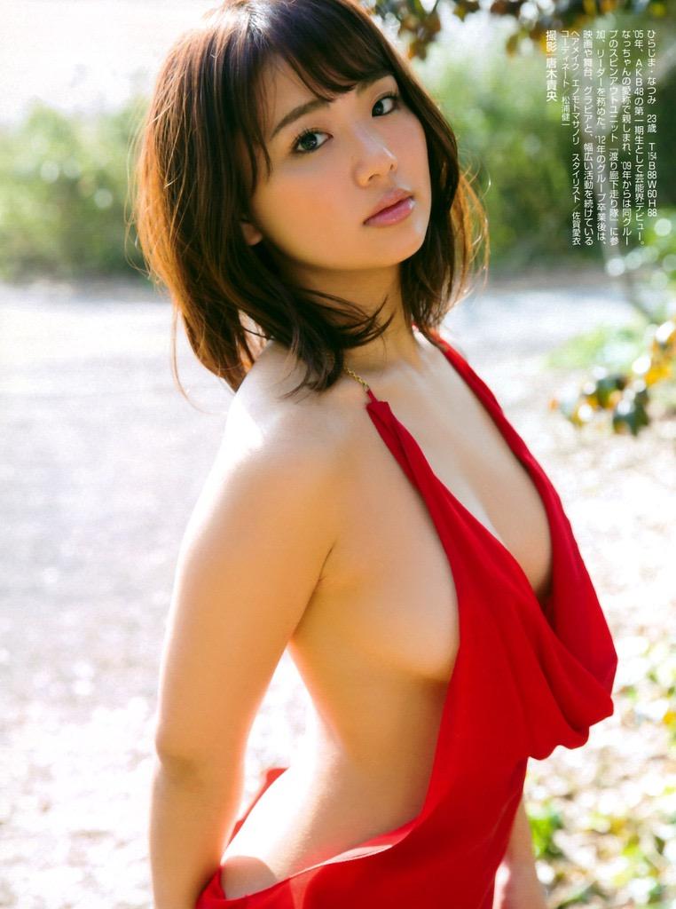 【平嶋夏海グラビア画像】グラドル顔負けなFカップエロボディでAKB48卒業後も活躍している元アイドル 57
