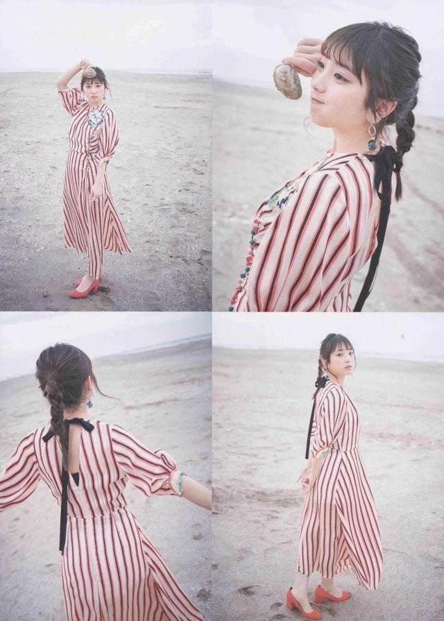 【与田祐希グラビア画像】乃木坂46加入4年目を迎えた現役アイドルの可愛くてちょっとエッチな水着画像 17