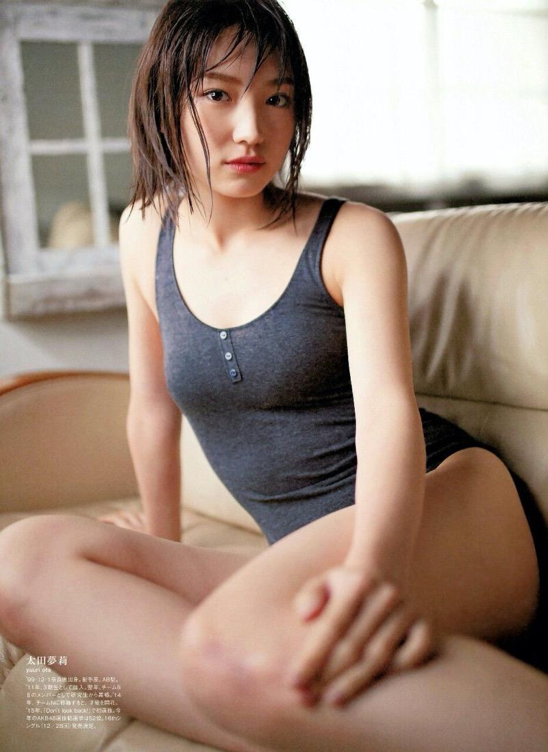 【太田夢莉水着画像】19歳にしてNMB48アイドルからの卒業を決めた美少女のグラビアが可愛い過ぎたwwww 59