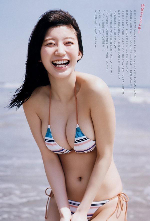 【小倉優香水着画像】セクシーなグラビアを見せてくれているリアル峰不二子が卒業するってマジ!? 48