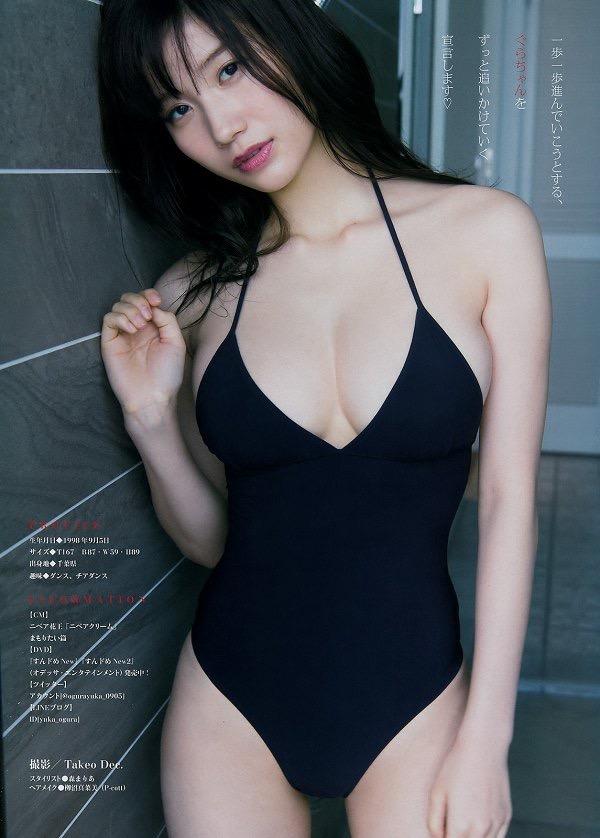 【小倉優香水着画像】セクシーなグラビアを見せてくれているリアル峰不二子が卒業するってマジ!? 90