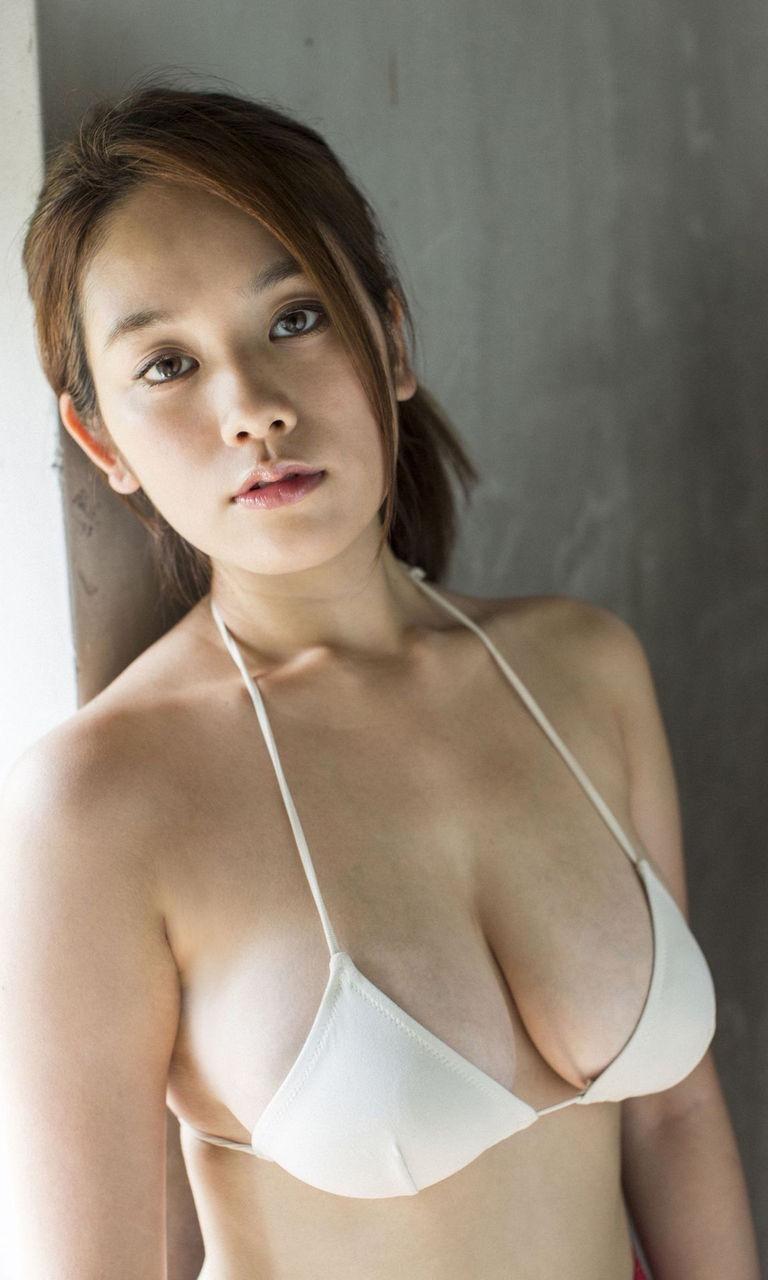 【筧美和子グラビア画像】日本人らしい形のFカップが最高にエロくてパイズリしたくなるメチャシコモデル 19