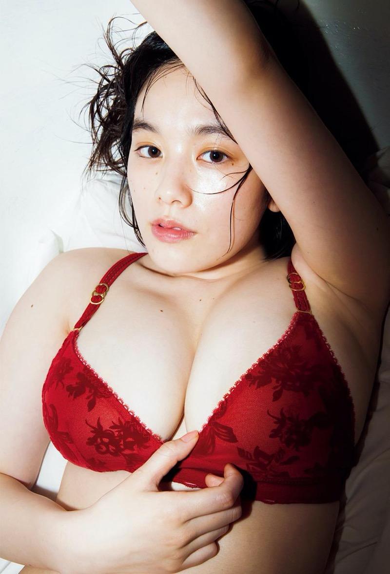 【筧美和子グラビア画像】日本人らしい形のFカップが最高にエロくてパイズリしたくなるメチャシコモデル 24