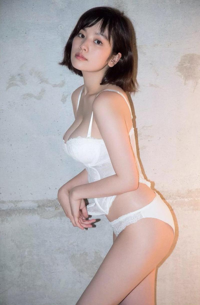 【筧美和子グラビア画像】日本人らしい形のFカップが最高にエロくてパイズリしたくなるメチャシコモデル 25