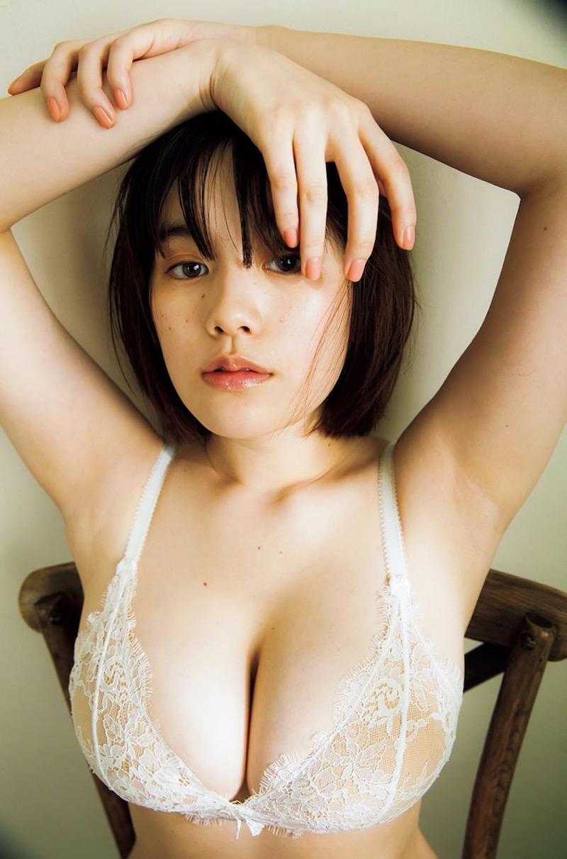 【筧美和子グラビア画像】日本人らしい形のFカップが最高にエロくてパイズリしたくなるメチャシコモデル 32