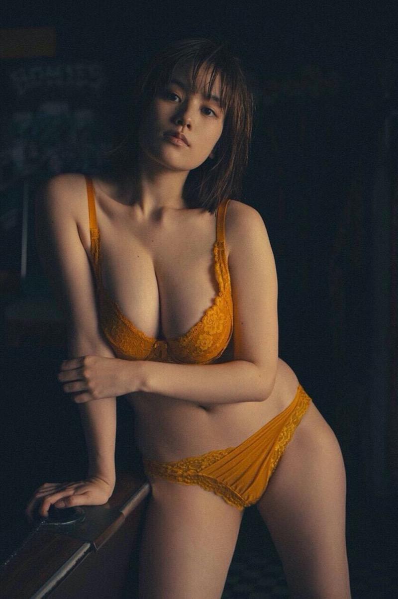【筧美和子グラビア画像】日本人らしい形のFカップが最高にエロくてパイズリしたくなるメチャシコモデル 39