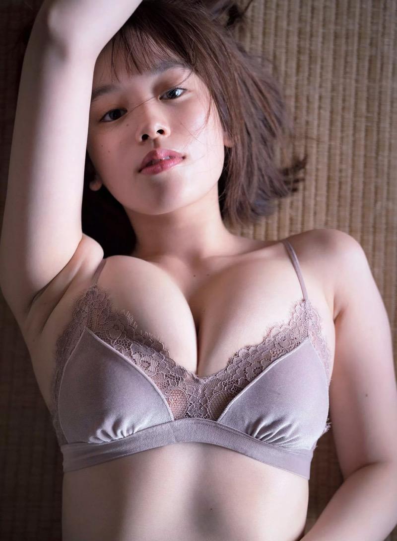 【筧美和子グラビア画像】日本人らしい形のFカップが最高にエロくてパイズリしたくなるメチャシコモデル 52