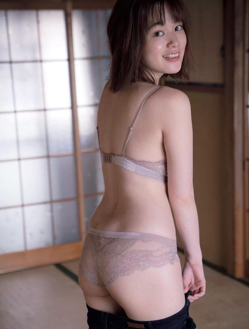 【筧美和子グラビア画像】日本人らしい形のFカップが最高にエロくてパイズリしたくなるメチャシコモデル 58