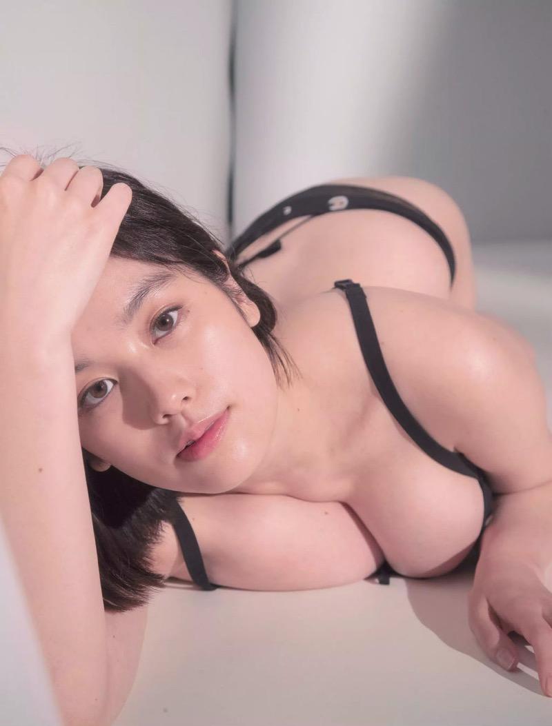 【筧美和子グラビア画像】日本人らしい形のFカップが最高にエロくてパイズリしたくなるメチャシコモデル 59