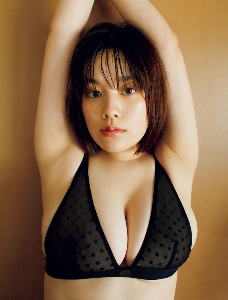 【筧美和子グラビア画像】日本人らしい形のFカップが最高にエロくてパイズリしたくなるメチャシコモデル 62