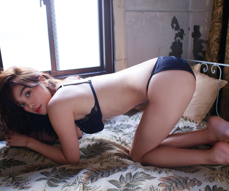 【筧美和子グラビア画像】日本人らしい形のFカップが最高にエロくてパイズリしたくなるメチャシコモデル 80