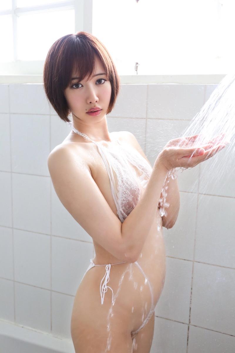 【川頭桃子エロ画像】ショートヘアの可愛いコスプレイヤーのメチャしこスレンダーボディがエロ過ぎたwwww 43