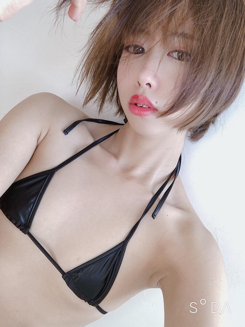 【川頭桃子エロ画像】ショートヘアの可愛いコスプレイヤーのメチャしこスレンダーボディがエロ過ぎたwwww 44