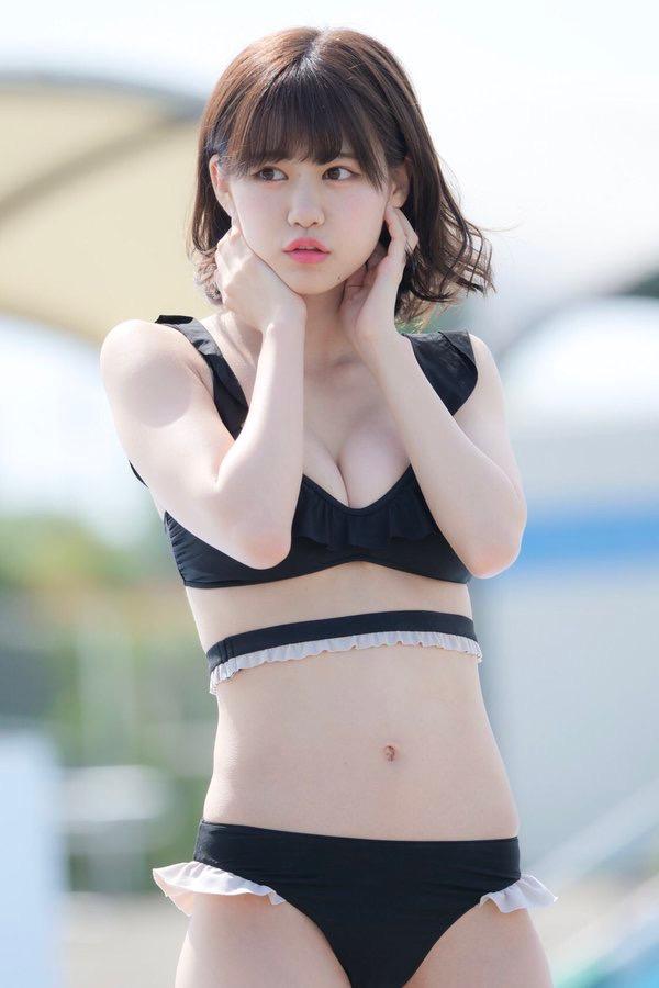 【土光瑠璃子エロ画像】うさぎ大好きアイドルがグラビアでも兎の衣装を希望して撮ったたらしいw 45