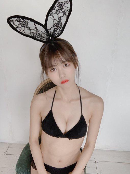 【土光瑠璃子エロ画像】うさぎ大好きアイドルがグラビアでも兎の衣装を希望して撮ったたらしいw 80