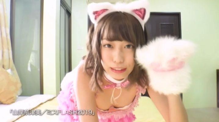 【山岸奈津美キャプ画像】元NMB48アイドルが着エロイメージビデオに出て疑似フェラしてるって本当かよwww 03