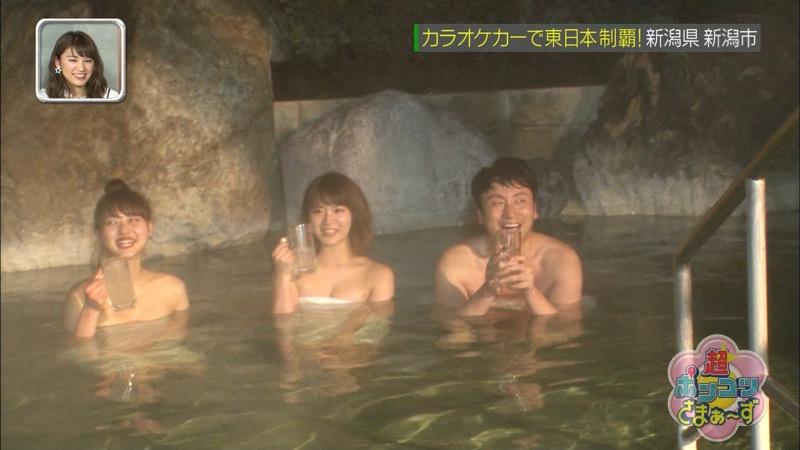 【山内鈴蘭キャプ画像】7年振りに水着グラビアへ復帰したSKE48アイドルの温泉入浴シーンがこちら! 16
