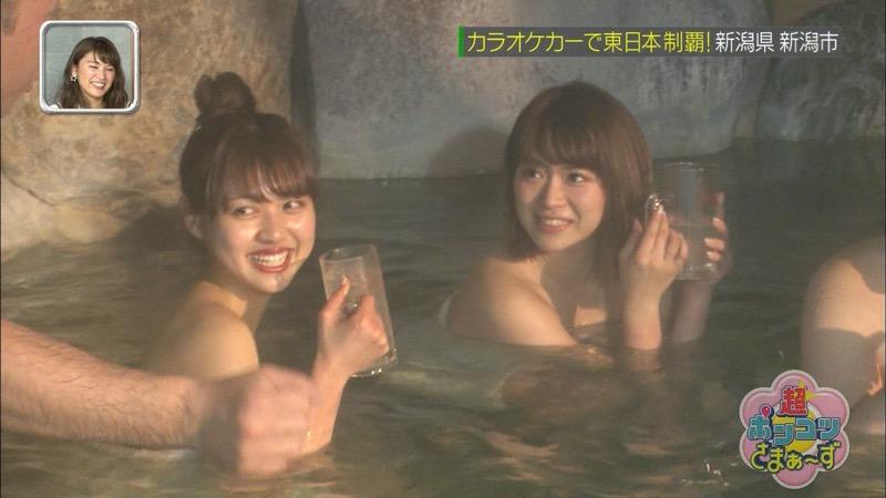 【山内鈴蘭キャプ画像】7年振りに水着グラビアへ復帰したSKE48アイドルの温泉入浴シーンがこちら! 17