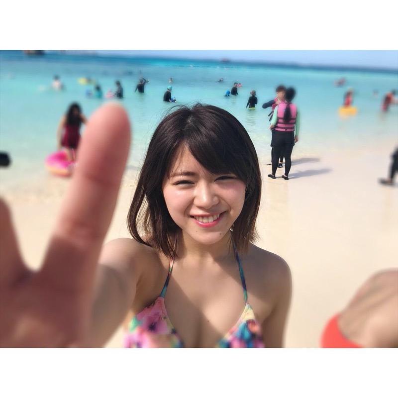 【山内鈴蘭キャプ画像】7年振りに水着グラビアへ復帰したSKE48アイドルの温泉入浴シーンがこちら! 75