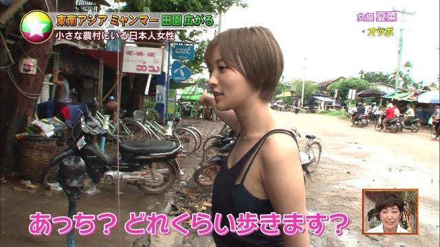 【夏菜キャプ画像】ショートカットがよく似合う似合う美人女優のボディラインが見られる濡れ場シーン等など 08