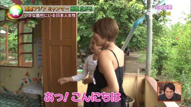 【夏菜キャプ画像】ショートカットがよく似合う似合う美人女優のボディラインが見られる濡れ場シーン等など 14