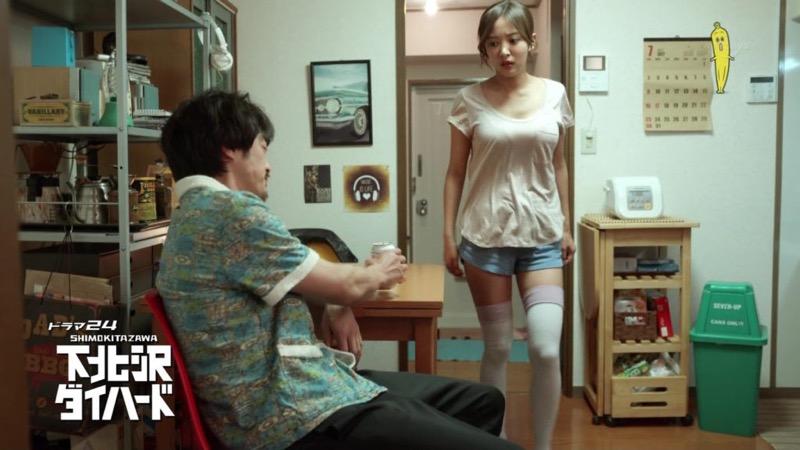 【夏菜キャプ画像】ショートカットがよく似合う似合う美人女優のボディラインが見られる濡れ場シーン等など 37
