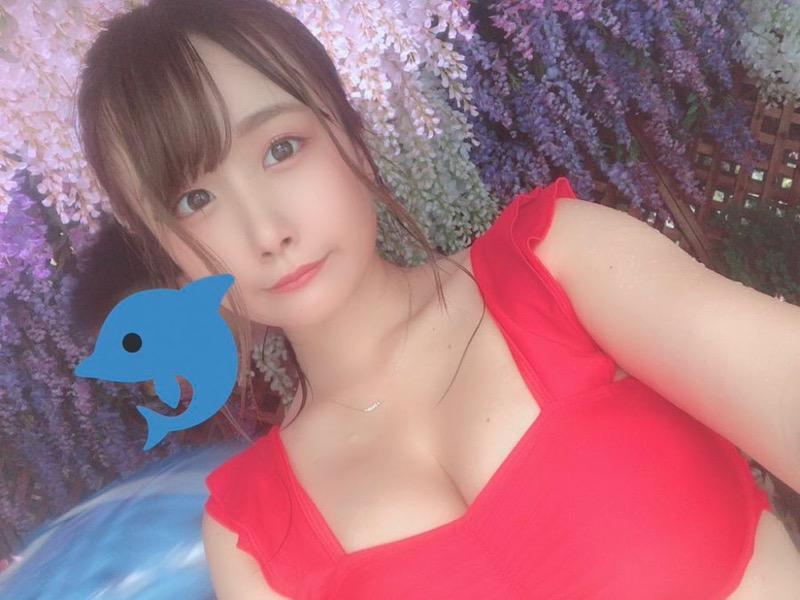 【七瀬美桜エロ画像】Hカップむっちり爆乳ボディが抱き心地良さそうな妹系の新人グラビアアイドル 77