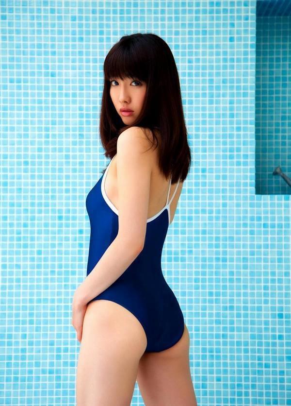 【スク水エロ画像】男性たちの性欲を沸き起こさせる魅力溢れる可愛くてエッチなスクール水着 14