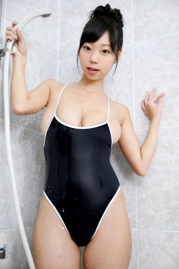 【スク水エロ画像】男性たちの性欲を沸き起こさせる魅力溢れる可愛くてエッチなスクール水着 41