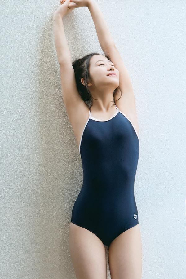 【スク水エロ画像】男性たちの性欲を沸き起こさせる魅力溢れる可愛くてエッチなスクール水着 45