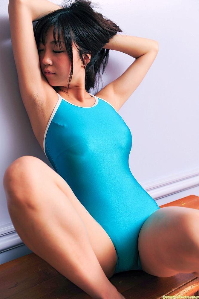 【スク水エロ画像】男性たちの性欲を沸き起こさせる魅力溢れる可愛くてエッチなスクール水着 68