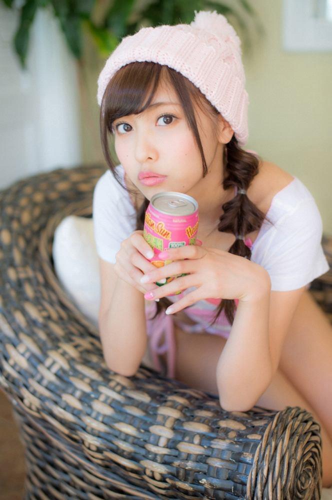 【佐野ひなこグラビア画像】ツインテールが似合って可愛い美少女モデルの綺麗でエロいFカップボディ 11