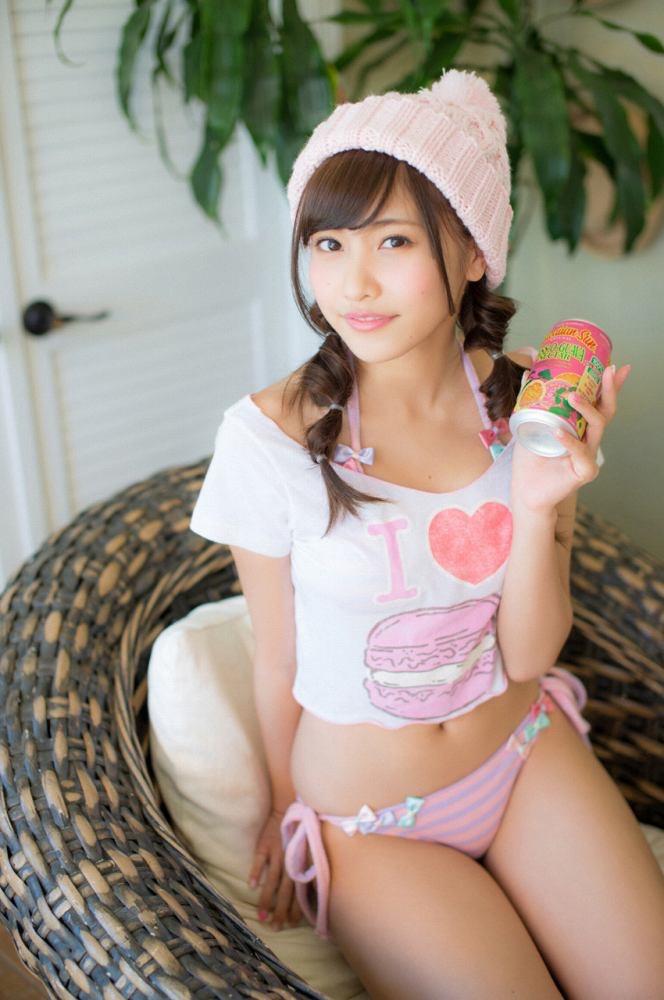 【佐野ひなこグラビア画像】ツインテールが似合って可愛い美少女モデルの綺麗でエロいFカップボディ 12