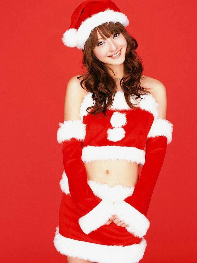 【サンタガール画像】クリスマスにセックスをプレゼントしてくれそうなエロギャルを集めてみたwwww 21