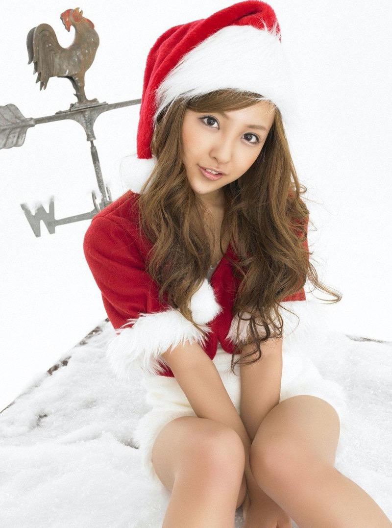 【サンタガール画像】クリスマスにセックスをプレゼントしてくれそうなエロギャルを集めてみたwwww 51