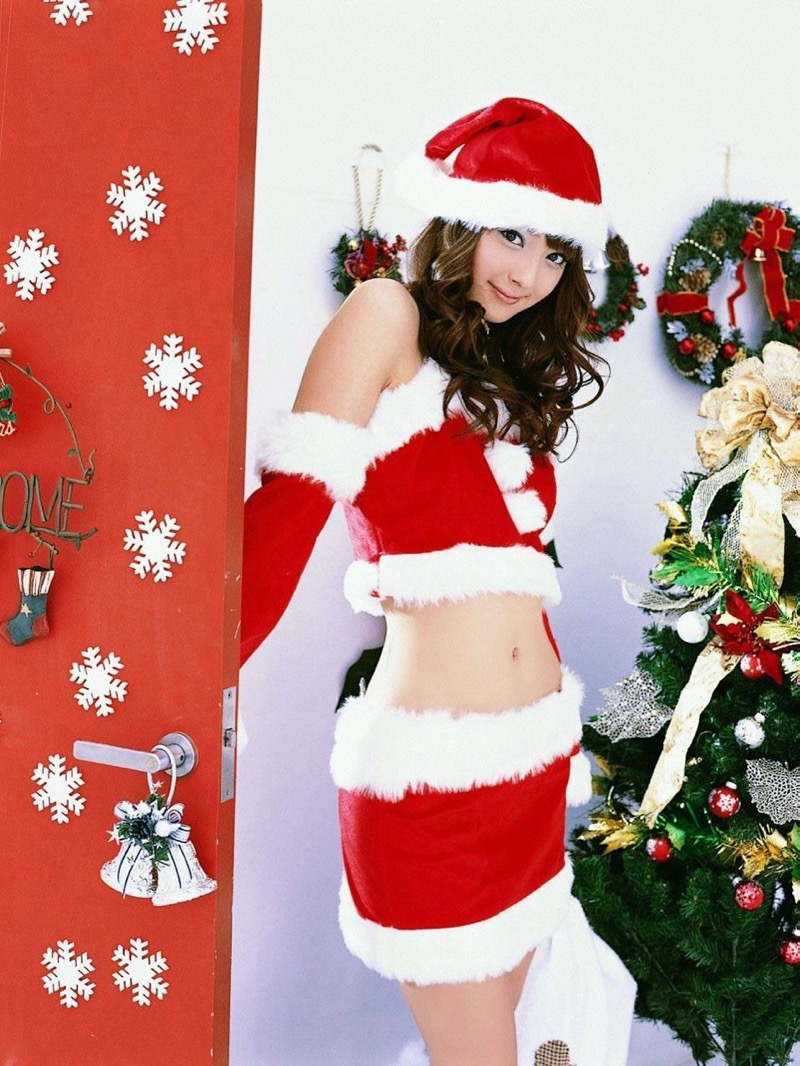 【サンタガール画像】クリスマスにセックスをプレゼントしてくれそうなエロギャルを集めてみたwwww 52