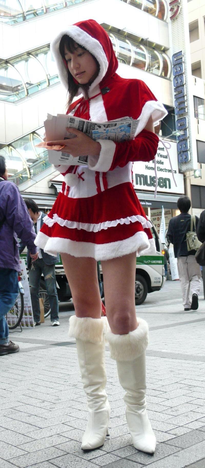 【サンタガール画像】クリスマスにセックスをプレゼントしてくれそうなエロギャルを集めてみたwwww 57