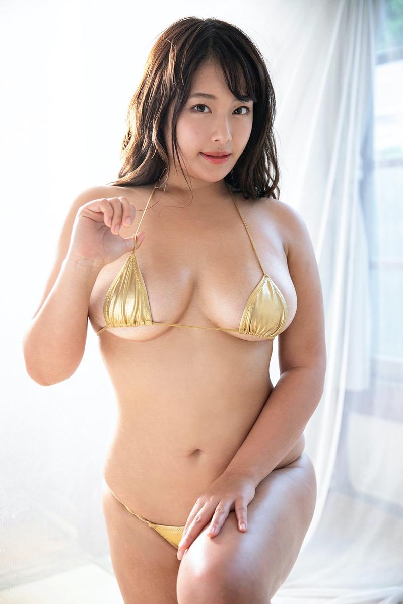 【秋山かほグラビア画像】別名で乳首まで見せる過激な着エロをやっていたらしい爆乳グラドルがこちら 65