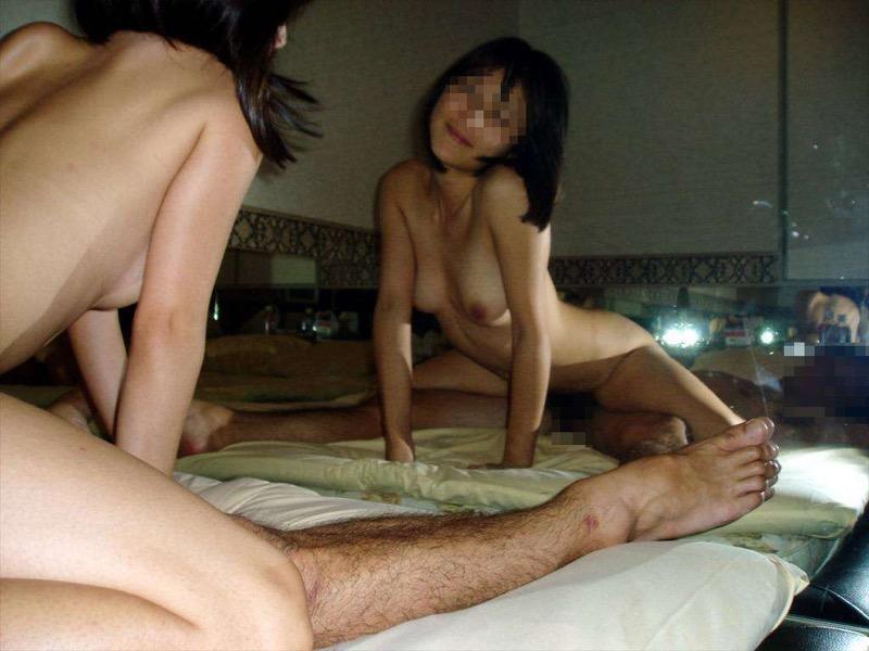 【素人ラブホテル画像】カップル達が興味半分で撮ったハメ撮りセックス画像が流出しまくってる事実wwww 09